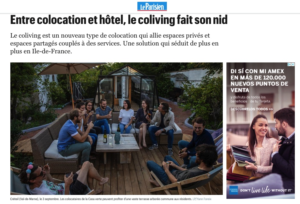 Coliving Le parisien
