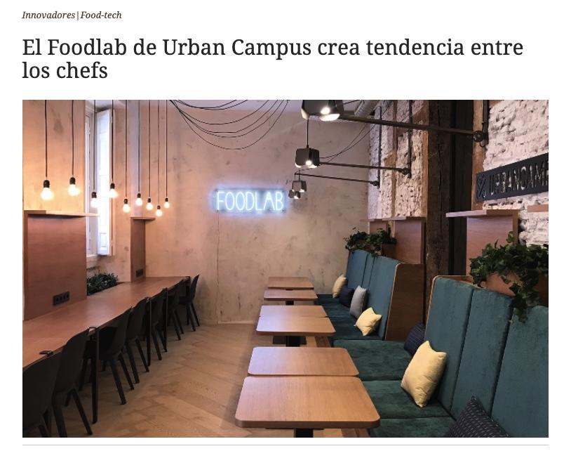 El Referente Foodlab Urban Campus