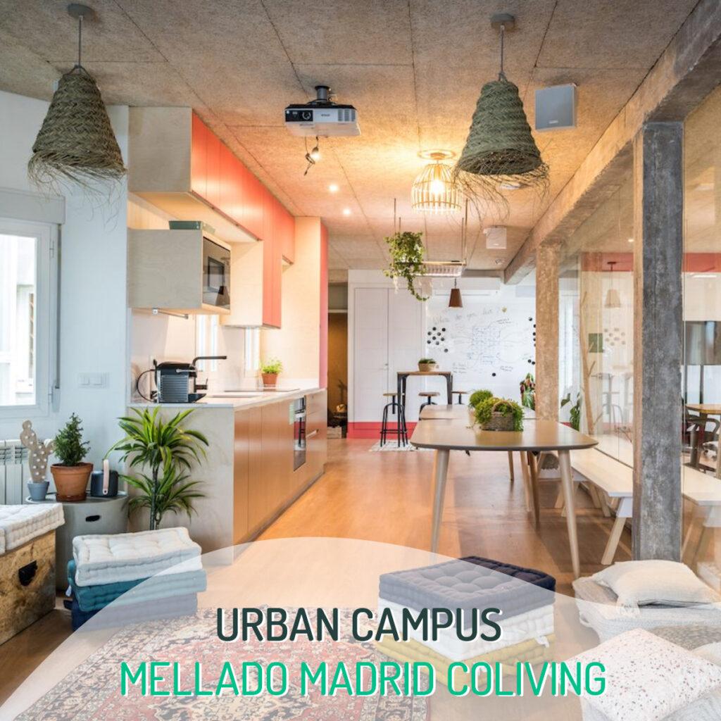 Urban Campus Mellado Madrid Coilving