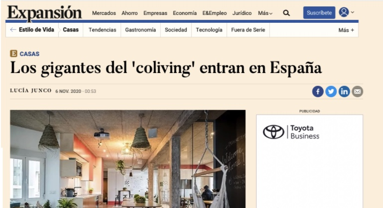 The Giants of Coliving enter Spain