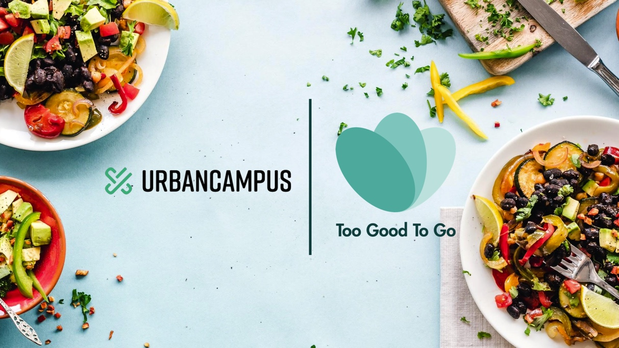 URBAN CAMPUS PARTNERS WITH TOO GOOD TO GO