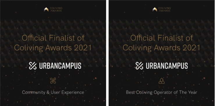 Urban Campus Coliving awards