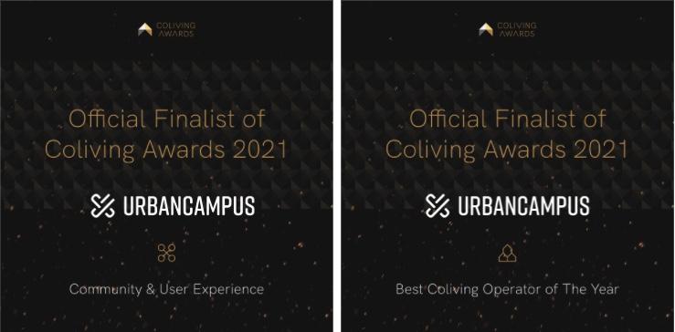 Urban Campus Coliving awards