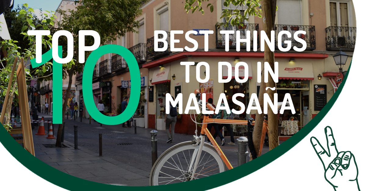Best Things In Malasaña - Cover Photo