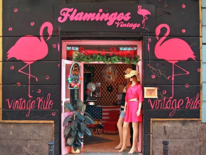 Best Things In Malasaña - Flamingos Vintage Kilo
