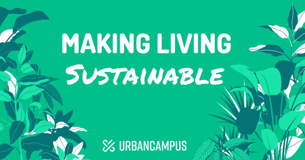 Making Living sustainable week