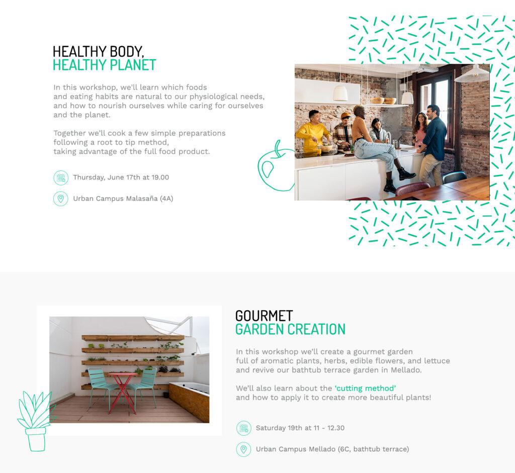 Urban Campus Community activities